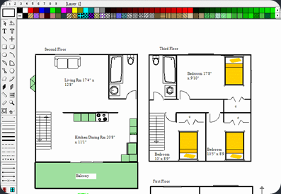 Ez architect floor plan design software - Floor plan designer free download ...